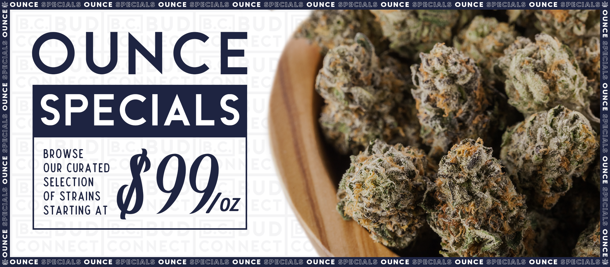 Ounce Specials Banner